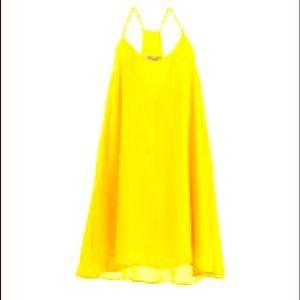 NWOT Askari Vivid Yellow Erin Blouse Tank